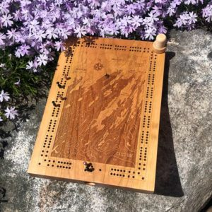 Freeport & Harpswell Cribbage Board
