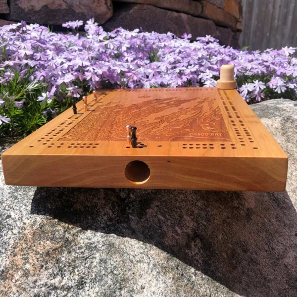 Freeport & Harpswell Cribbage Board.