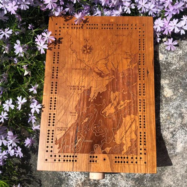 Yarmouth Cribbage Board.