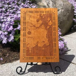 Greater Portland Cribbage Board