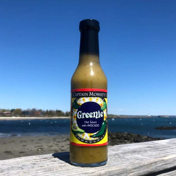 Greenie Hot Sauce by Captain Mowatt's