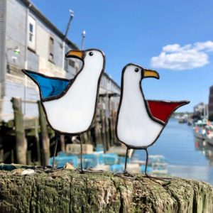 Stained Glass Gull