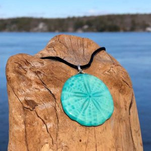 Celeste Sand Dollar Necklace