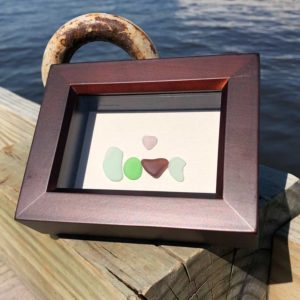 Love Sea Glass with multiple colors of glass