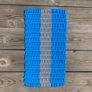 Cerulean & Grey Lobster Rope Doormat