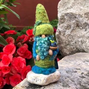 Green Gilbert the Home Gnome