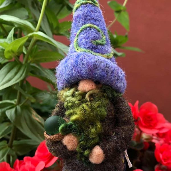 Lavender Leroy the Home Gnome