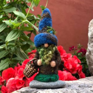 Navy Neville the Home Gnome