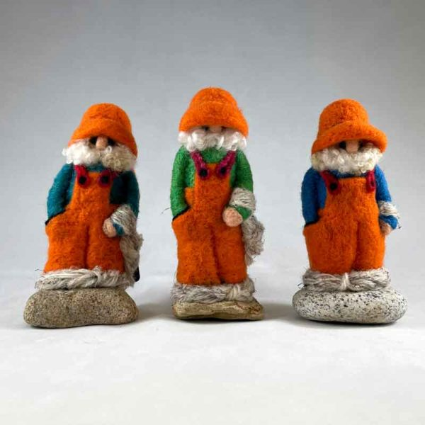 Orange Overalls Fishergnomes