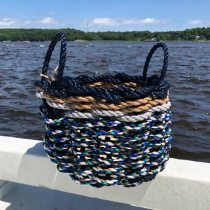 Ocean Seaweed Lobster Rope Basket
