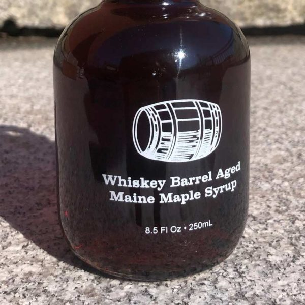 Whiskey Barrel Aged Maine Maple Syrup