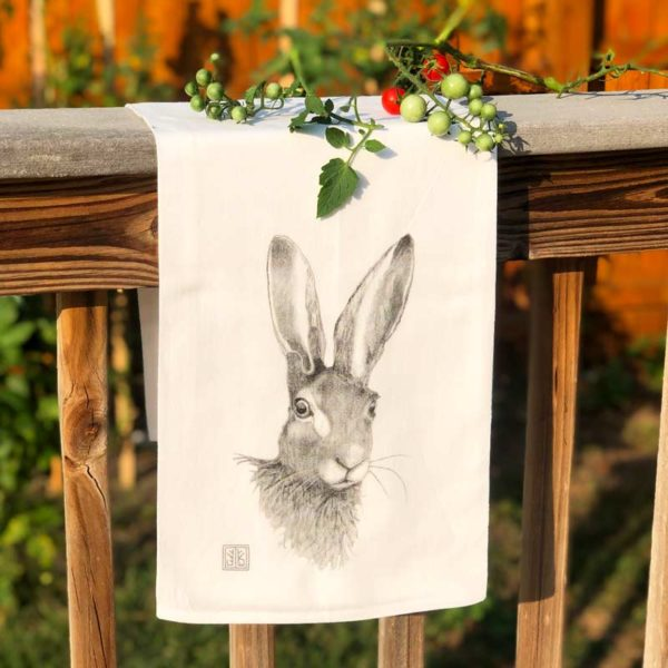 Forest Animal Tea Towel - Rabbit
