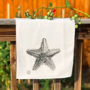 Sea Creature Tea Towel - Starfish