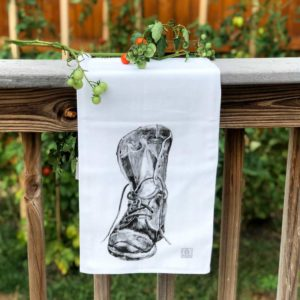 Boot Tea Towel