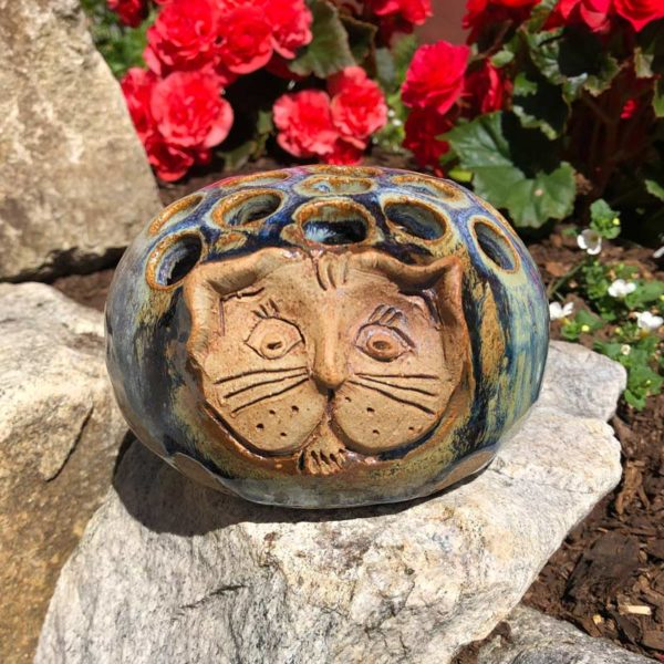Cat Organizer by Westport Island Pottery
