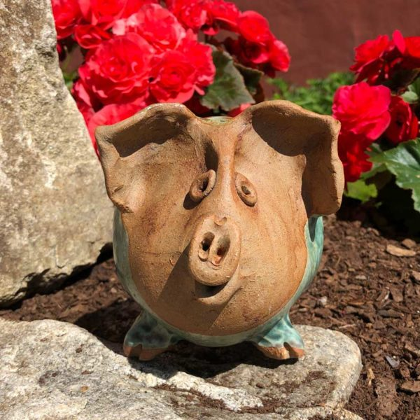 Piggy Organizer by Westport Island Pottery