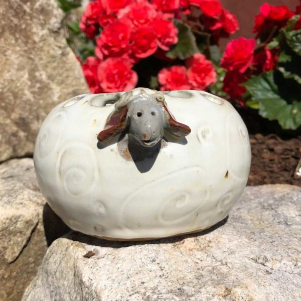 Sheep Organizer by Westport Island Pottery