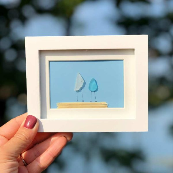 Sea Glass Frames - 2 people