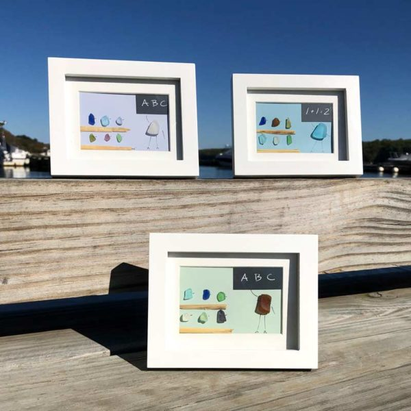 Sea Glass Teacher & Students Frames