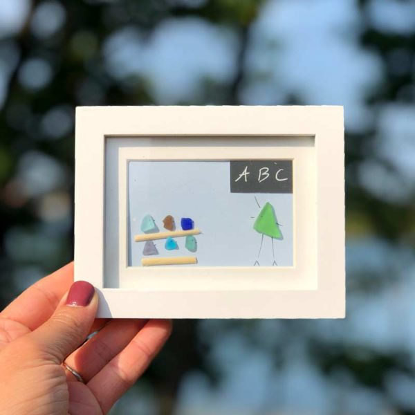 Sea Glass Frames - Teacher & Students