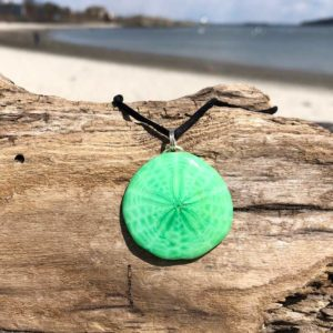 Matcha Sand Dollar Necklace