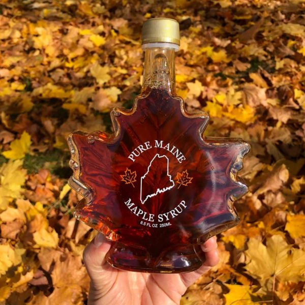 8oz Maple Syrup Leaf