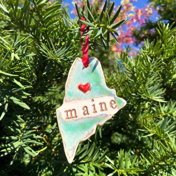 State of Maine Ornament - maine