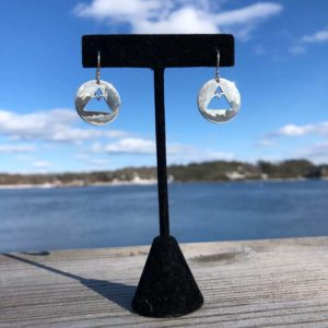 Snowcapped Mountain Earrings