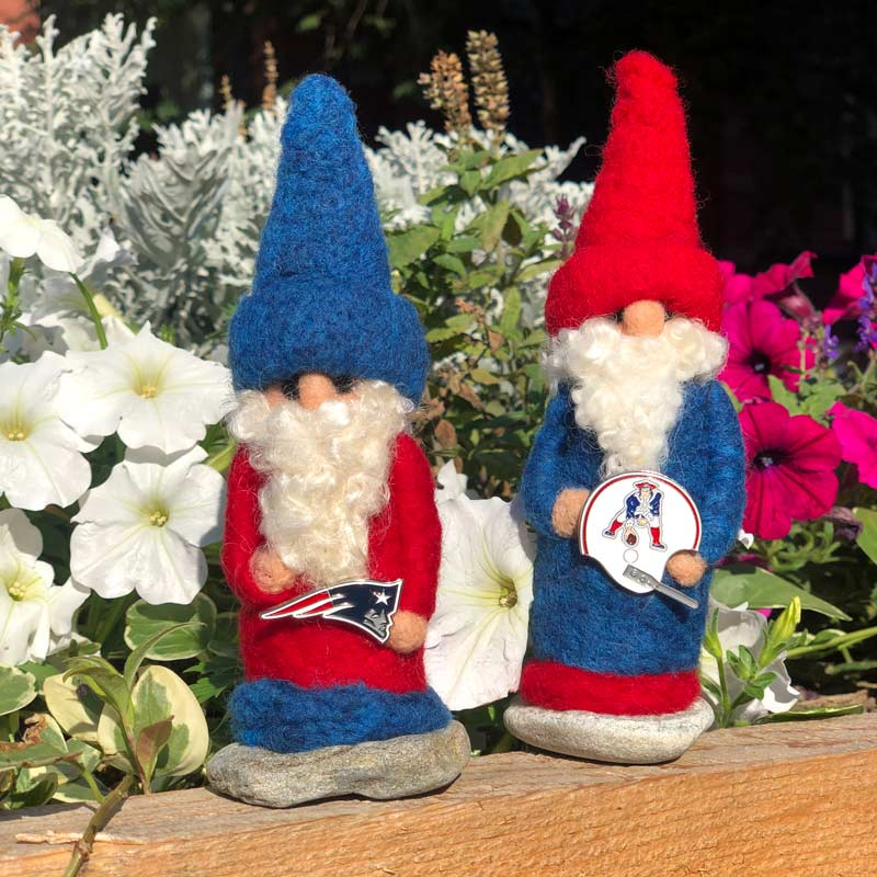 New England Patriots Gnome Made to Order
