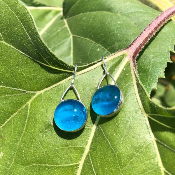 Azure Glass Earrings