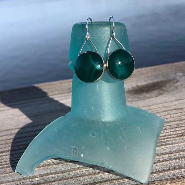 Pine Glass Earrings