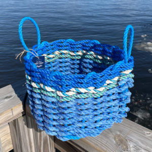 Beach Waves Lobster Rope Basket