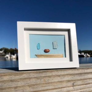 Sea Glass Pet Frame