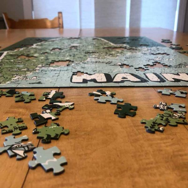 Maine State Puzzle