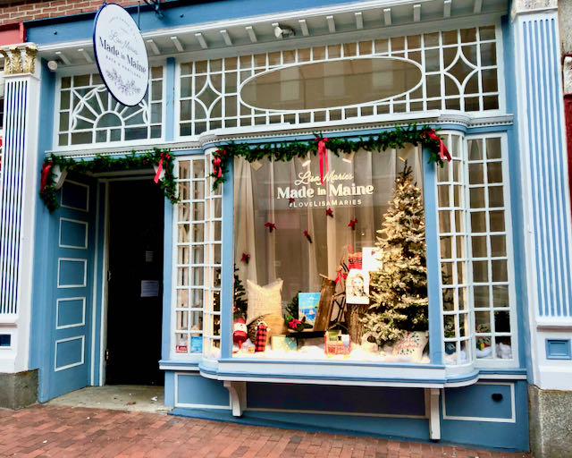 Lisa-Marie's Made in Maine | Portland Storefront, December 2020