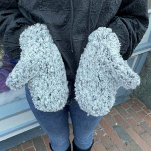 Teddy Bear Mittens