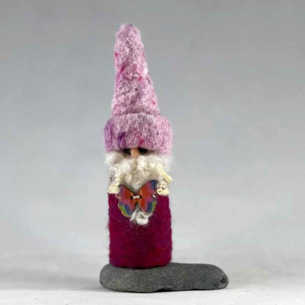 Tommy the Magenta Gnome