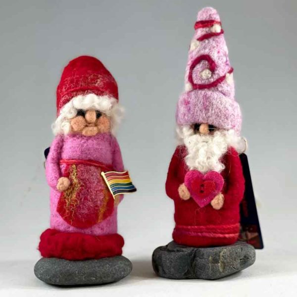 Lily & Valentino Gnome Couple