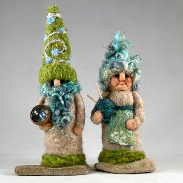 Gandalf & Greta Gnome Couple