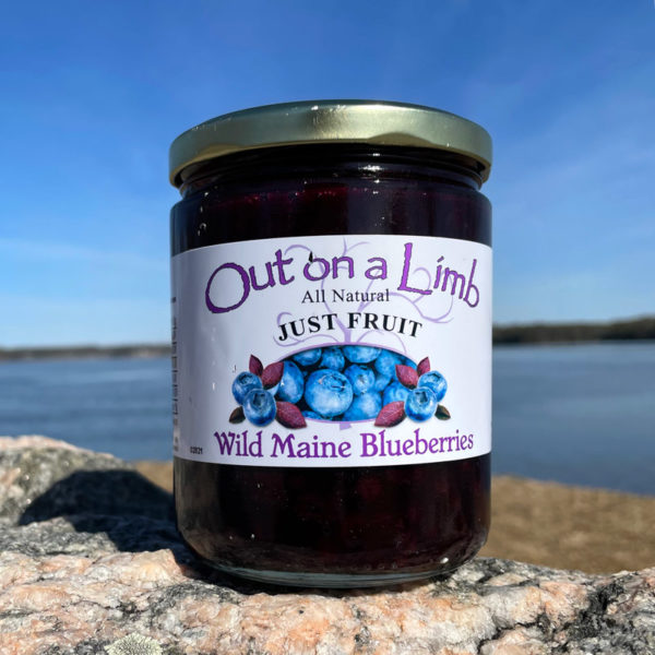 16oz Jar of Just Maine Blueberries