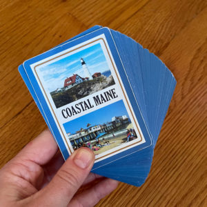 Coastal Maine Playing Cards