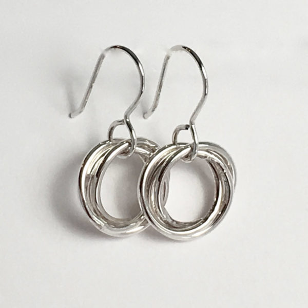 Small Love Knot Earrings
