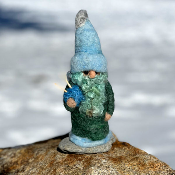 Gentle George the Knitting Gnome