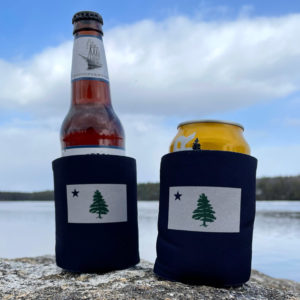 First Maine Flag Drink Coozie