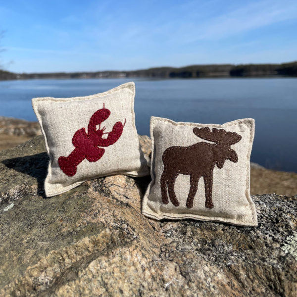Felted Balsam Pillows