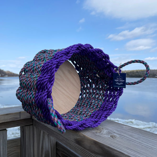 Grape Lobster Rope Basket