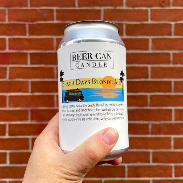 Beach Days Blonde Ale - Beer Can Candle Company