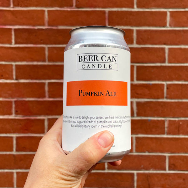 Pumpkin Ale - Beer Can Candle Company